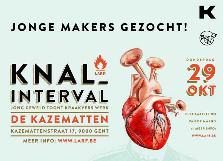 OPEN CALL jonge makers